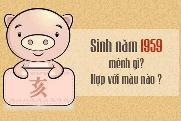 Sinh năm 1959 bao nhiêu tuổi